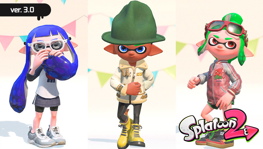 Splatoon 2 Update Out Now Version 300 Nintendo Everything