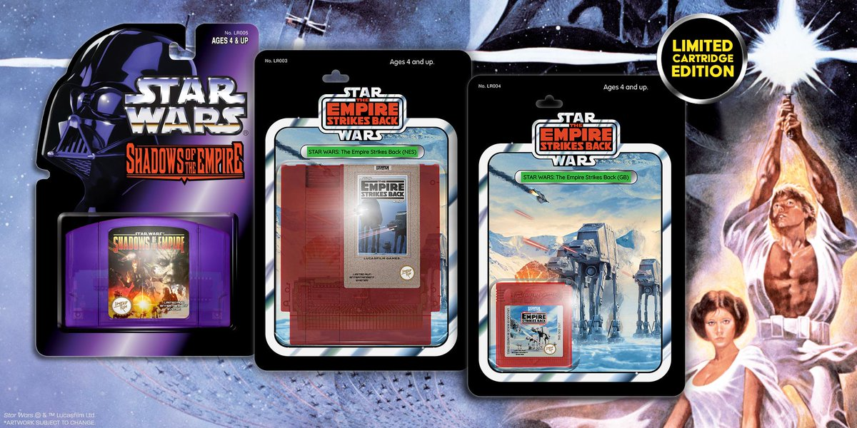 Star Wars: The Empire Strikes Back, Star Wars: Shadows of the Empire re-release pre-orders open