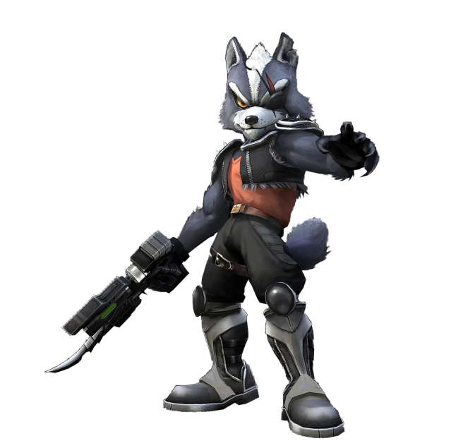 Alternate outfits I would like to see in Super Smash Bros Ultimate  Star-wolf-656x635