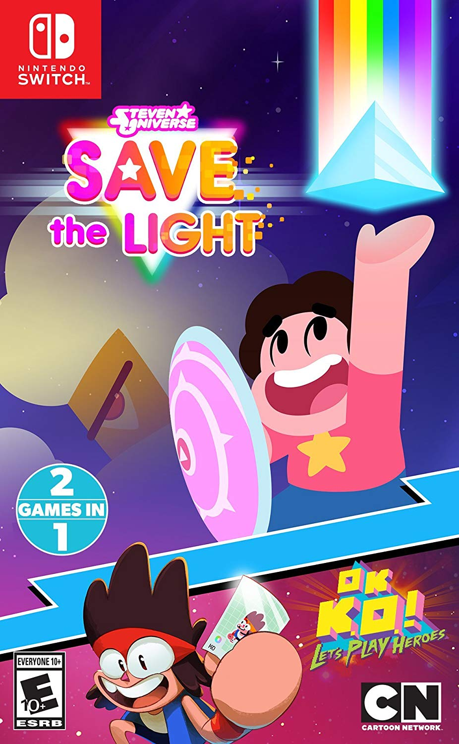 steven universe save the light and ok k o let s play heroes