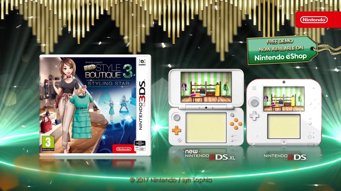 Amazon. Com: style savvy: trendsetters nintendo 3ds (certified.