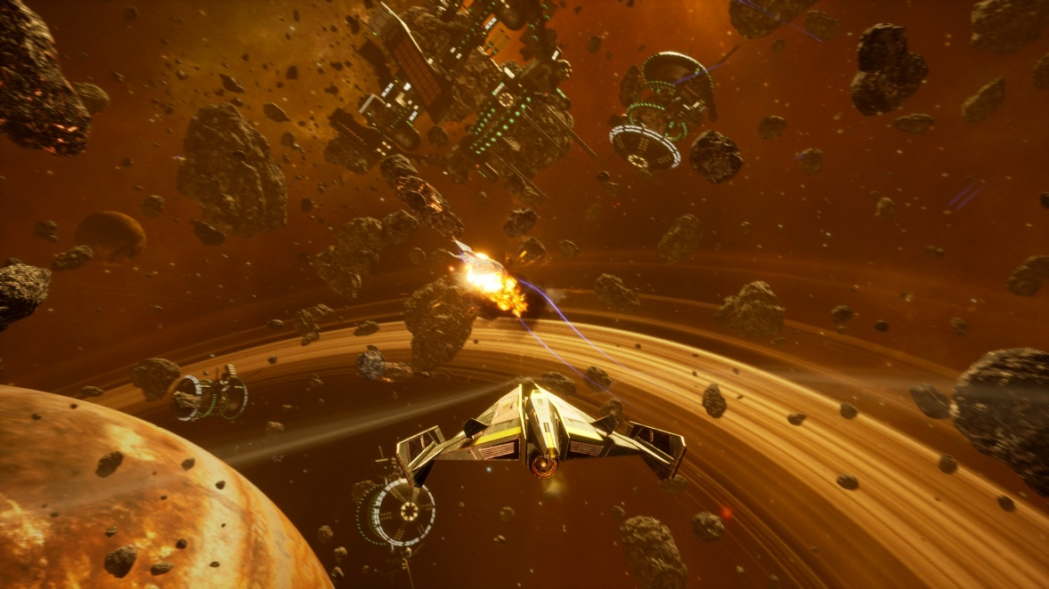 Sci-fi 3D space shooter Subdivision Infinity DX coming to