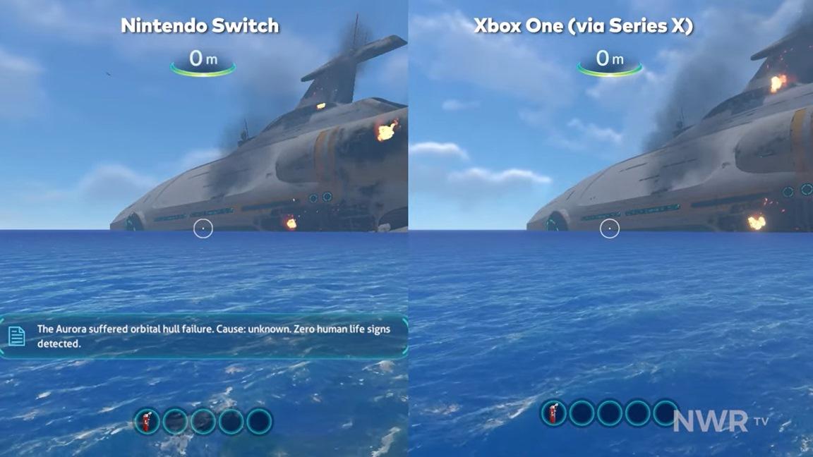 Video: Subnautica Switch vs. Xbox One graphics comparison - Nintendo Everything