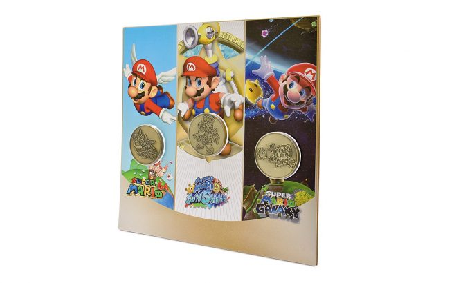 Super Mario 3D All-Stars coin set