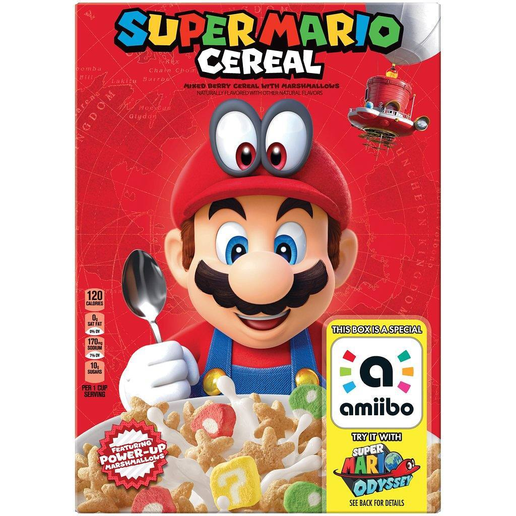 Super Mario Cereal Showing Up In Target's Inventory System