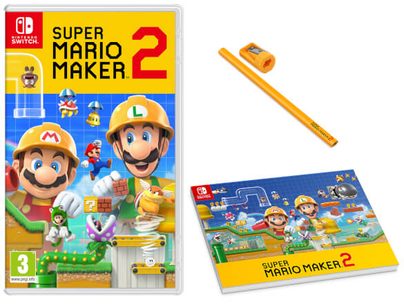 Pre Order Super Mario Maker 2 At The Nintendo Uk Store Get A
