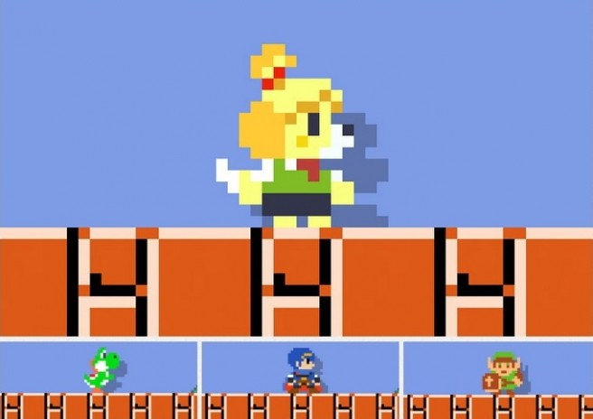 Super Mario Maker - can have amiibo skins without the