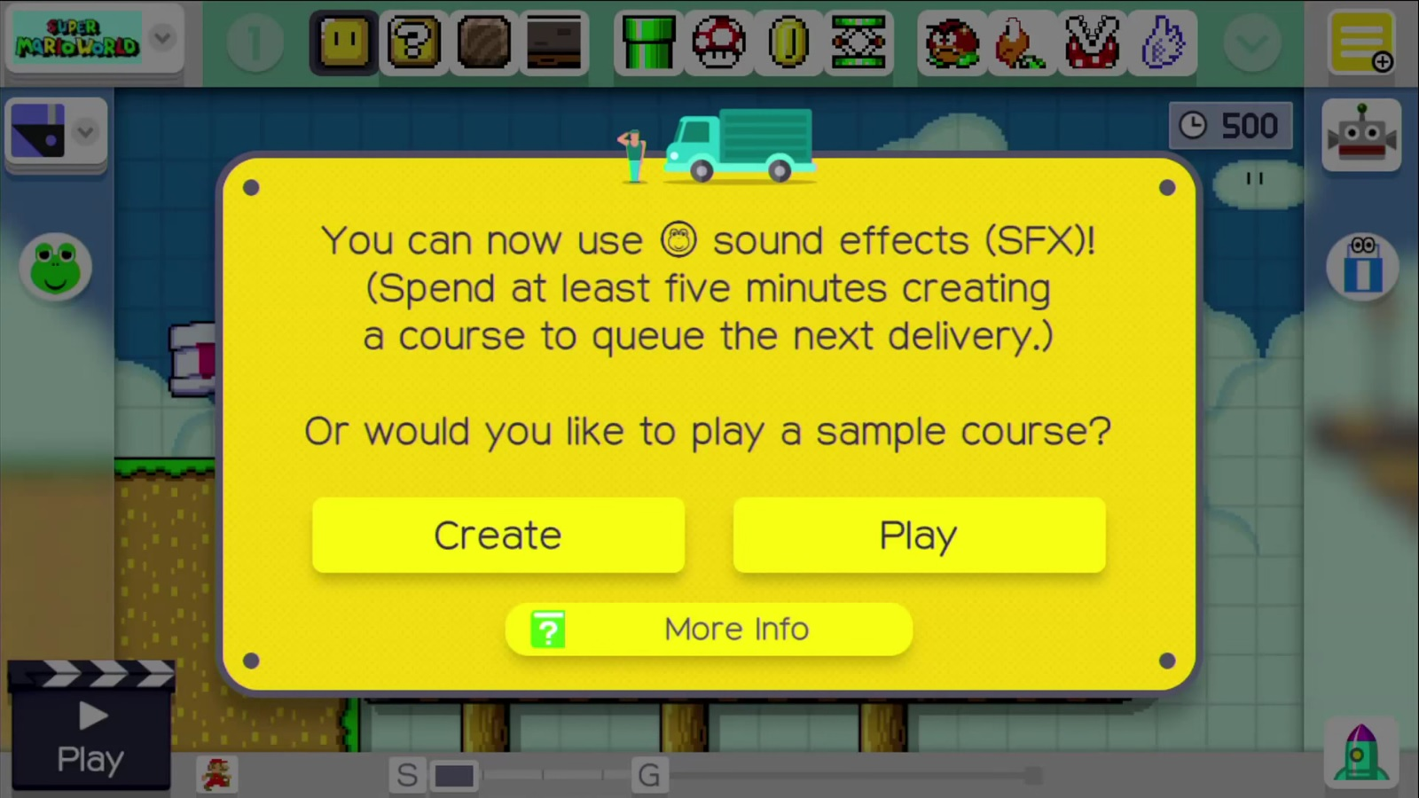 super mario maker lets you create your own sound effects nintendo
