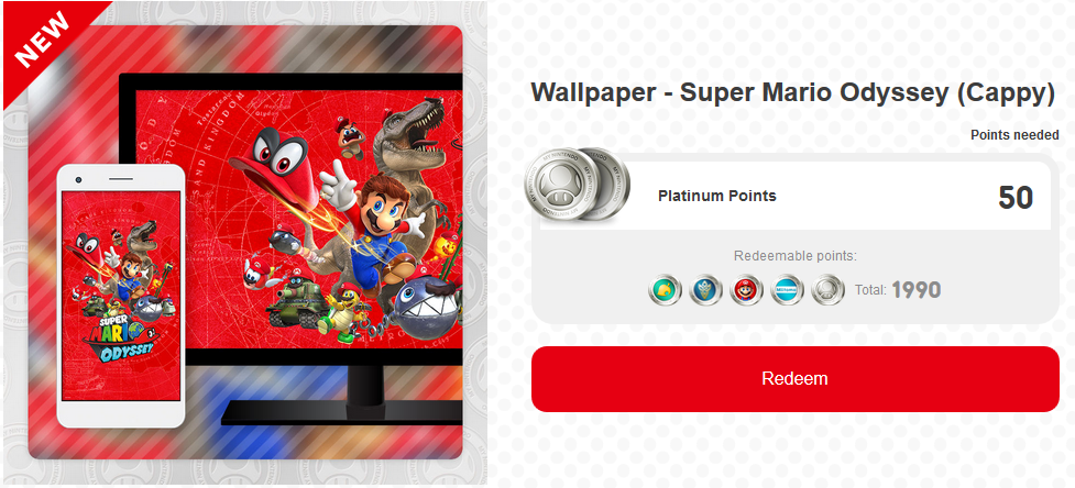 Super Mario Odyssey Metroid Samus Returns Rewards Added