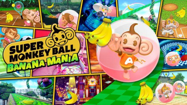 super monkey ball banana mania physics