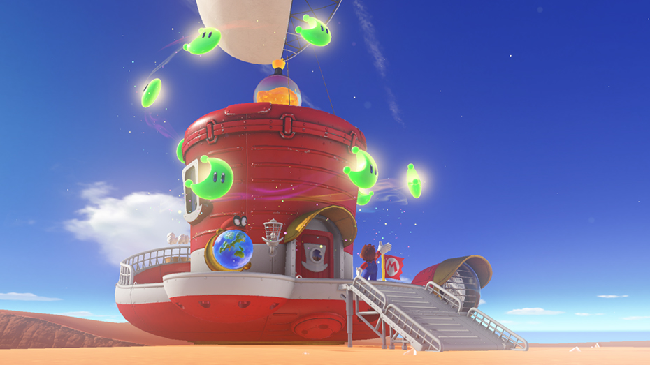 Super Mario Odyssey Allows You To Customize The Inside Of The