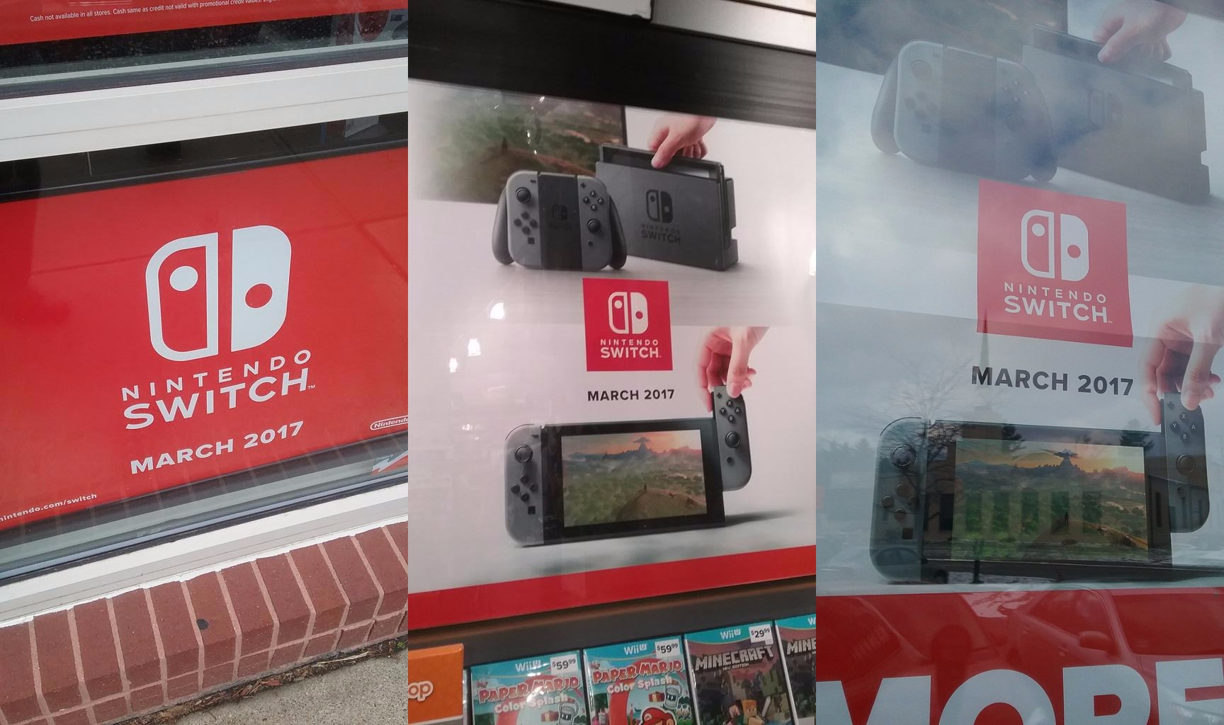 Switch Ads Spotted At Gamestop Nintendo Everything