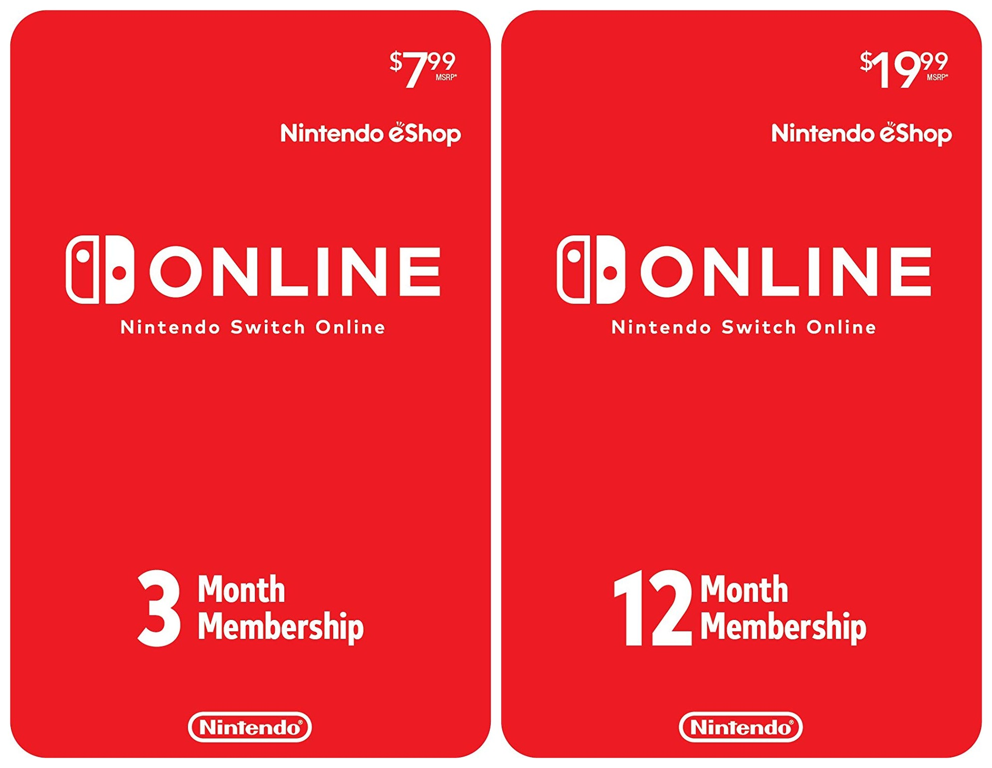 Nintendo Switch Online Codes Available To Purchase On Amazon Us Nintendo Everything