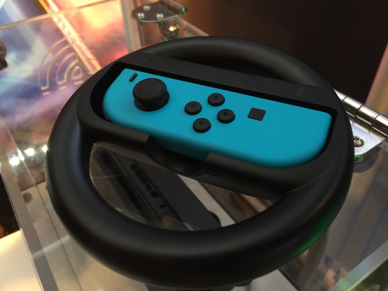 Steering Wheel Accessory Coming To Switch Used For Mario Kart 8