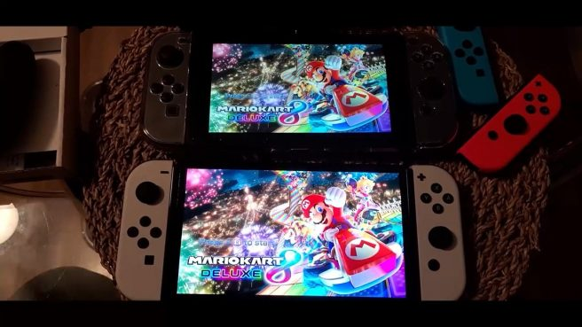 Switch OLED vs. Switch comparison