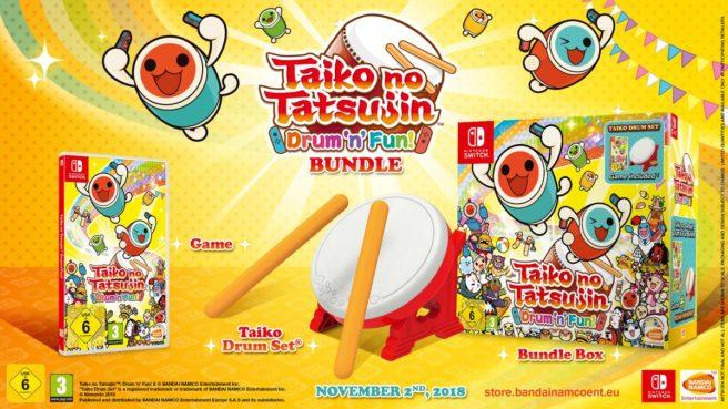 Taiko no Tatsujin: Drum 'n' Fun bundle