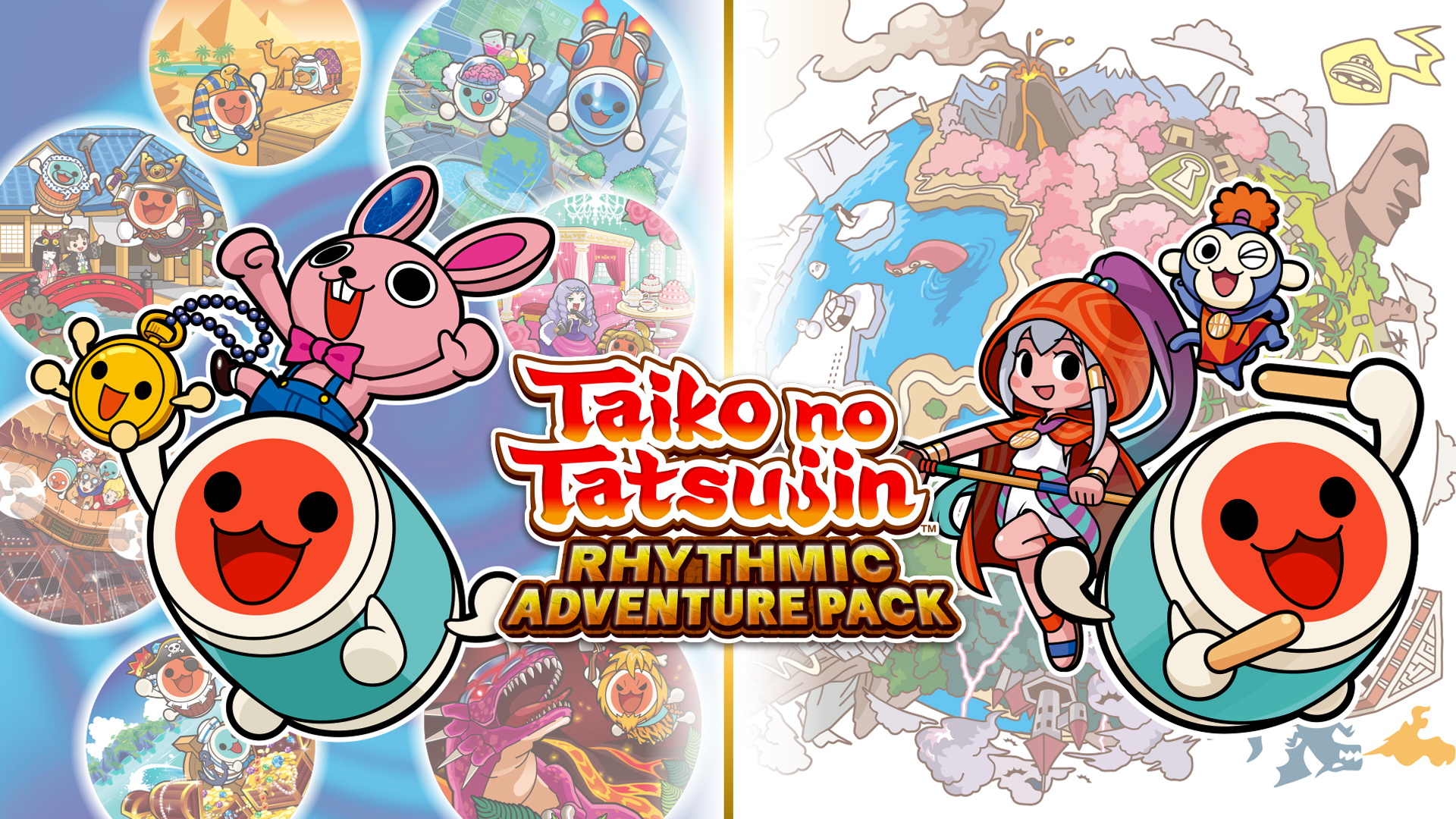 Switch file sizes - Taiko no Tatsujin: Rhythmic Adventure Pack, Shiren the Wanderer, Picross S5, more - Nintendo Everything