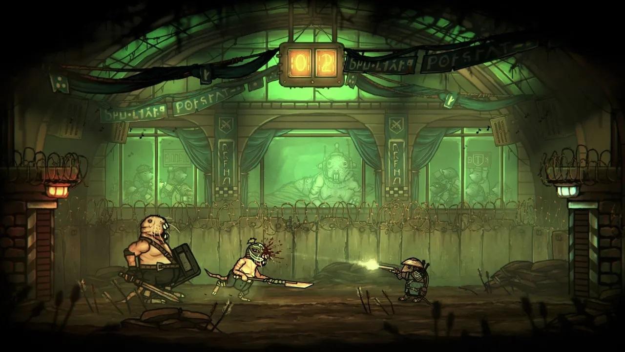 Tails of Iron gameplay