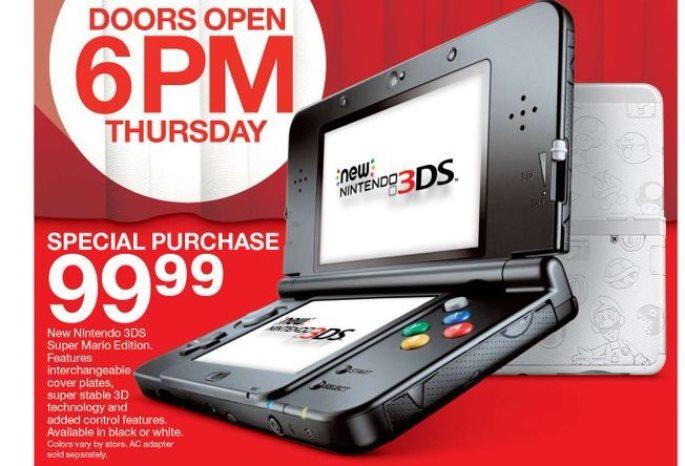 Target Black Friday Highlight Nintendo Switch Deals