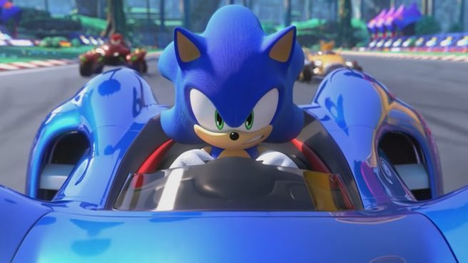 SEGA says Team Sonic Racing's opening movie was cut on Switch because of cartridge size restrictions, won't be patched in