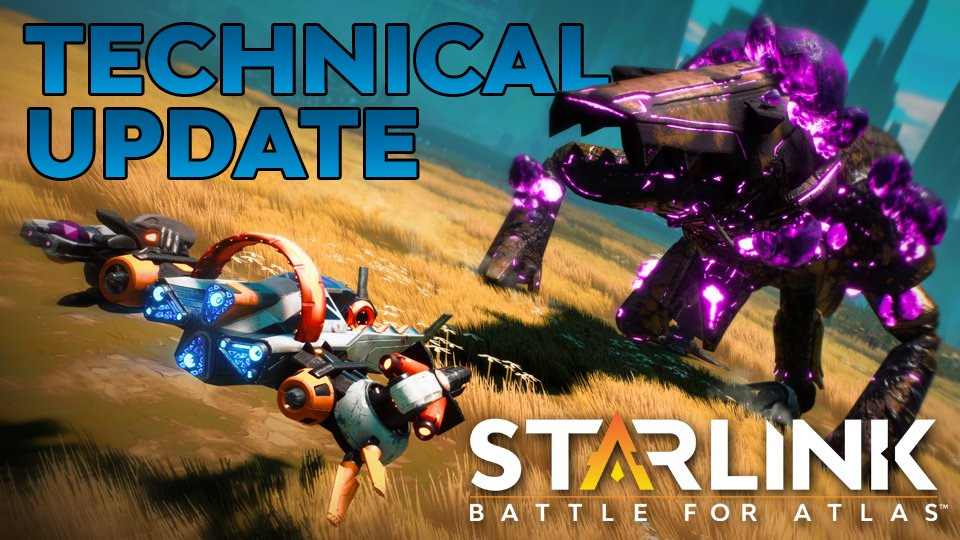 Starlink: Battle for Atlas gets a technical update