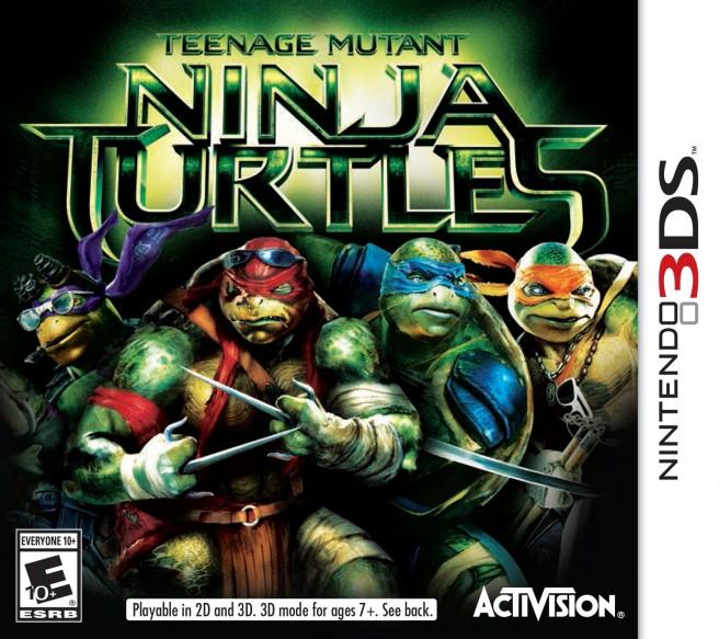 Teenage Mutant Ninja Turtles 3DS boxart
