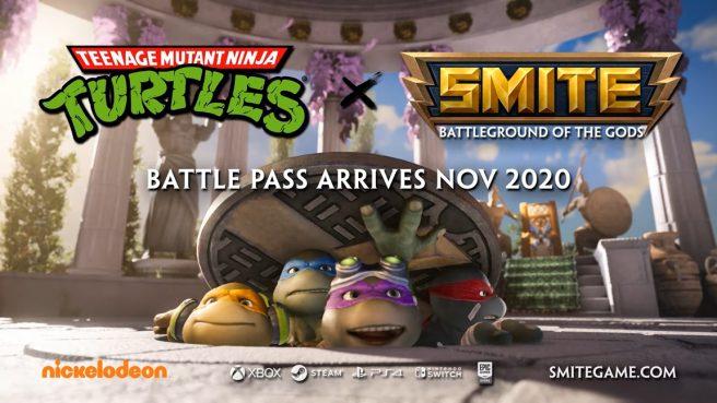 Smite - Teenage Mutant Ninja Turtles