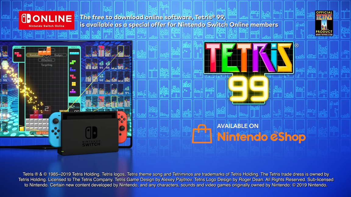"""Tetris creator Alexey Pajitnov says Tetris 99 """"is absolutely a great title"""", loves Switch and Zelda: Breath of the Wild"""