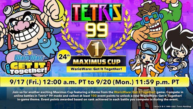 WarioWare Tetris 99