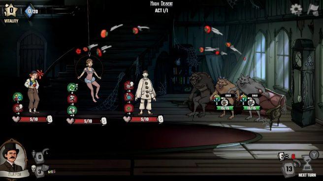 The Amazing American Circus gameplay