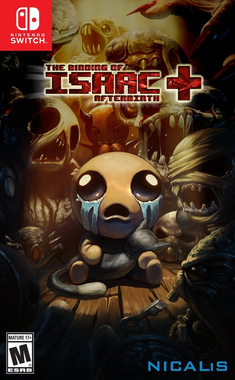 The Binding Of Isaac: Afterbirth+ Boxart, Pre-orders Open