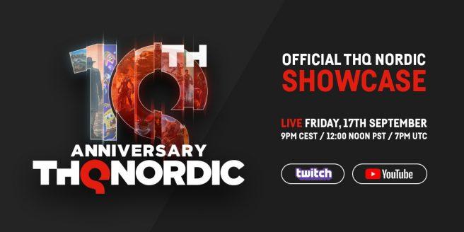 THQ Nordic digital showcase live stream