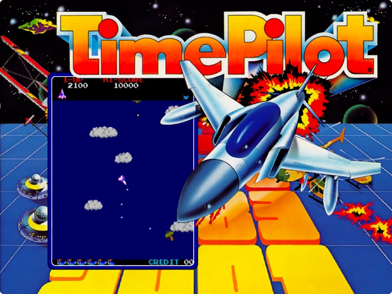Arcade Archives Time Pilot coming to Switch next week