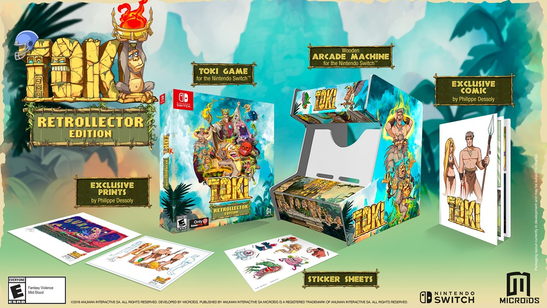 GameStop will be selling the Toki Retrollector Edition