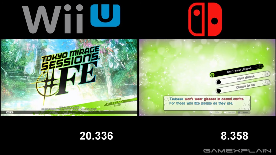 Video Tokyo Mirage Sessions Fe Encore Switch Vs Wii U