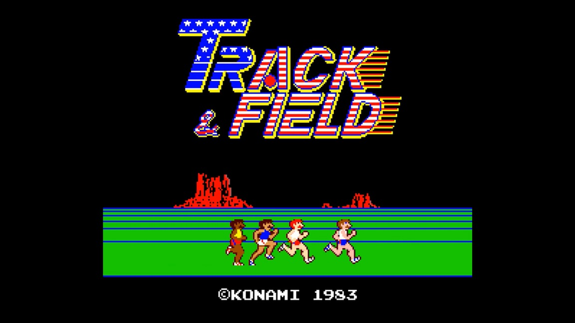 Arcade Archives Track & Field due out on Switch next week