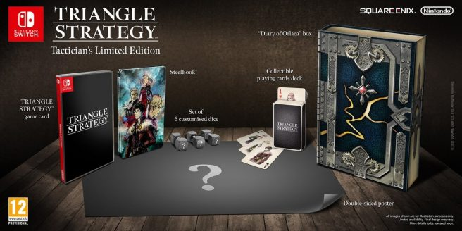 Triangle Strategy Limited Edition