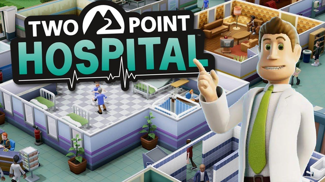 Two Point Hospital Gamescom 2019 footage