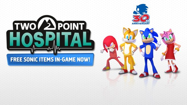 Two Point Hospital Sonic the Hedgehog