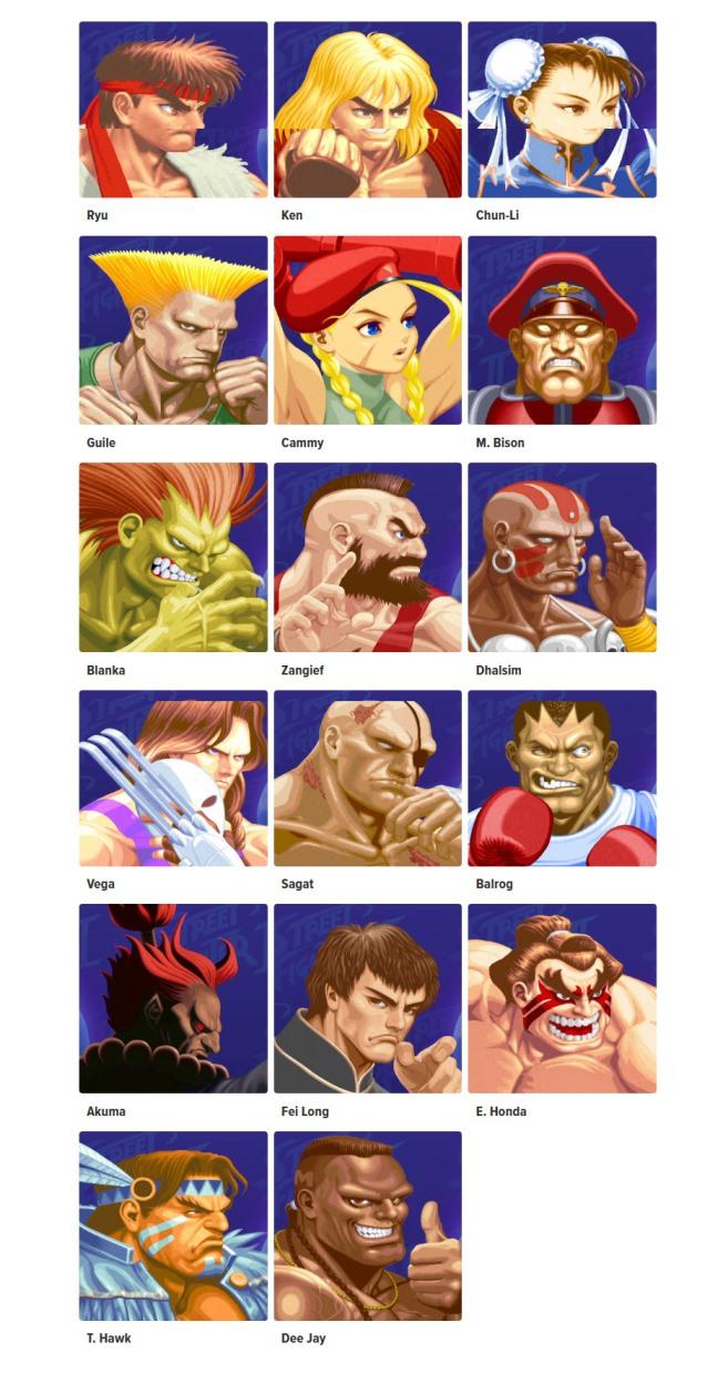 Ultra Street Fighter II: The Final Challengers details - HD