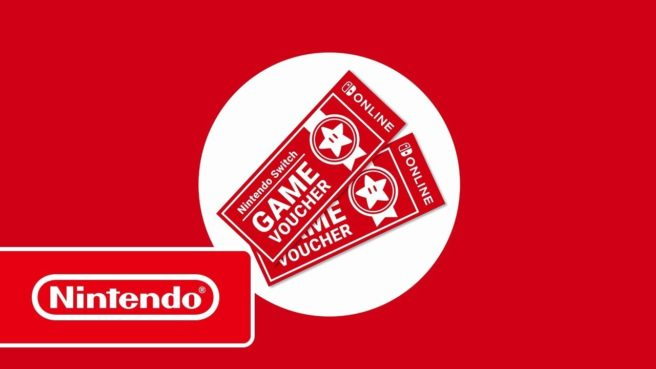 Nintendo Switch Game Vouchers