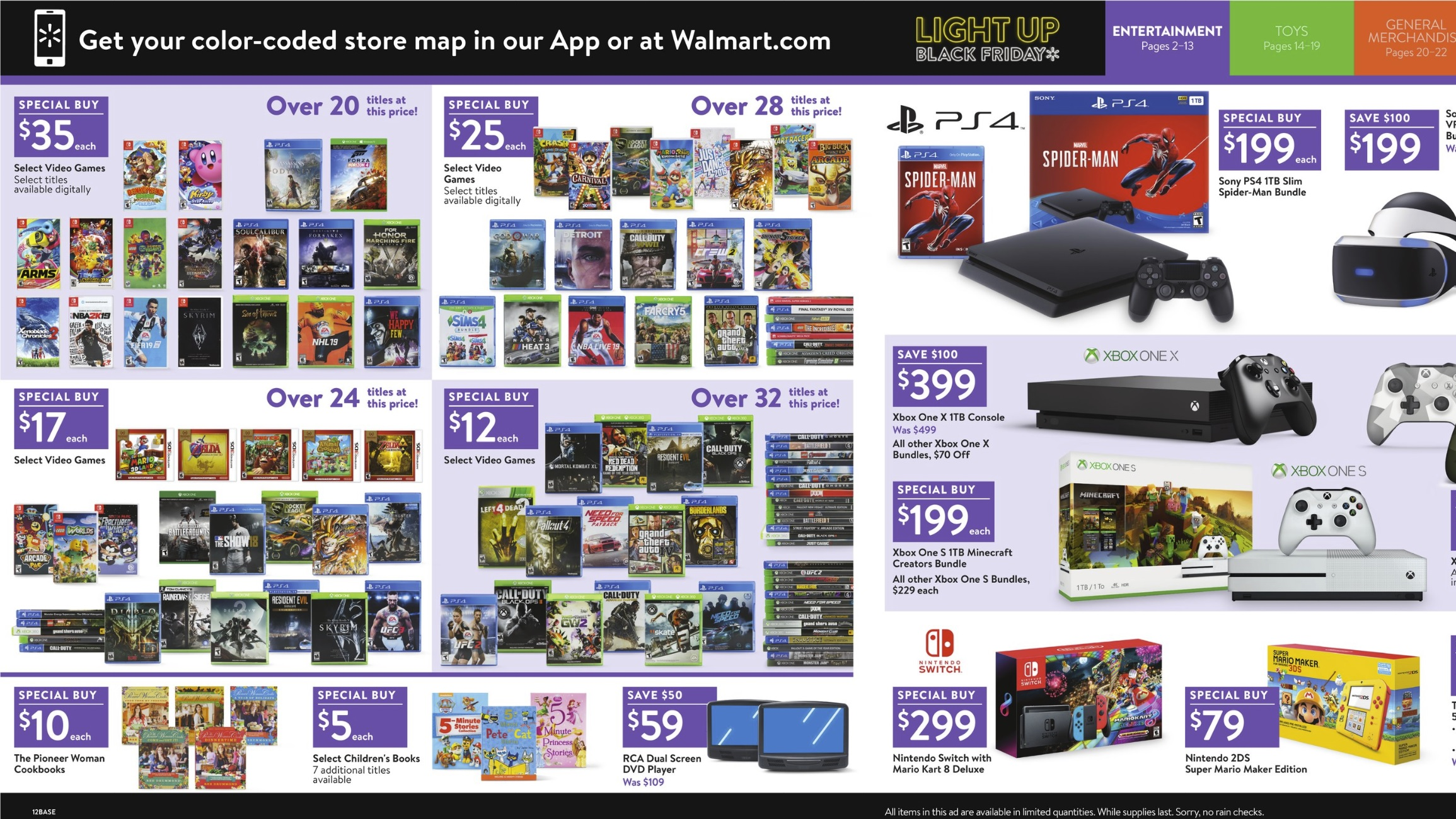 walmart black friday 2018 deals kirby arms xenoblade 2 skyrim more for 35 each nintendo. Black Bedroom Furniture Sets. Home Design Ideas