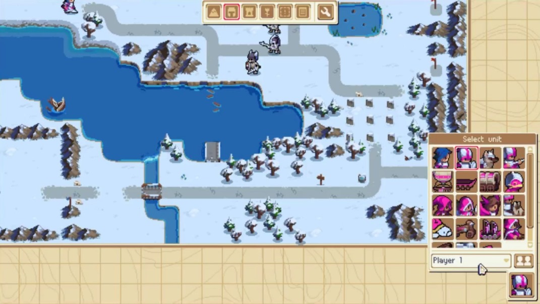New wargroove footage showing the map editor nintendo everything chucklefish held a live stream for wargroove today and showed off the map editor in great detail find the full recording below gumiabroncs Image collections