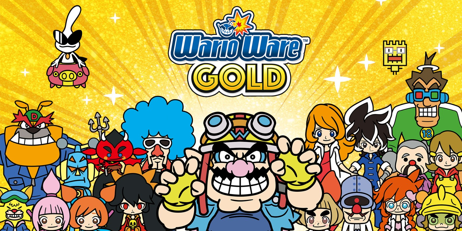 WarioWare Gold pre-load live on the 3DS eShop, file size