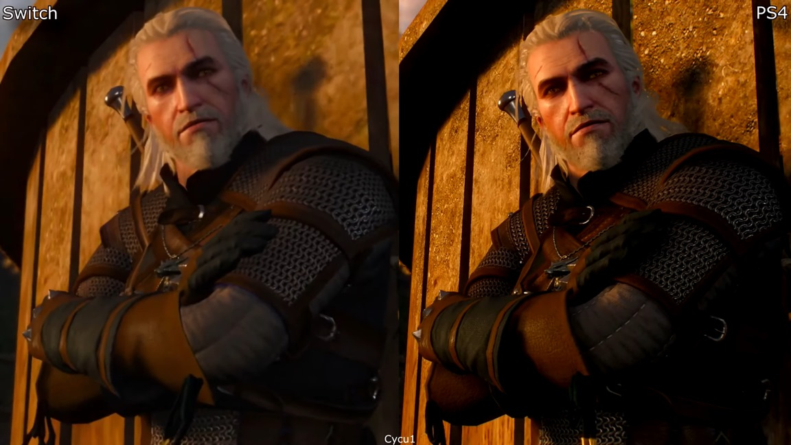 Video: The Witcher 3: Wild Hunt gets new Switch vs. PS4 comparison