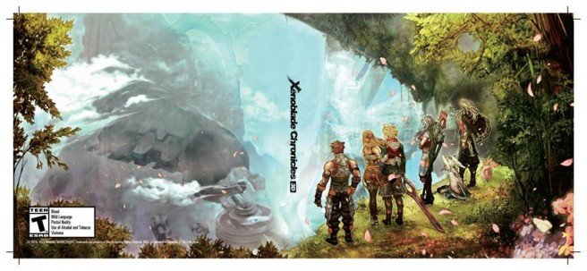 Print out some alternate covers for Xenoblade Chronicles 3D