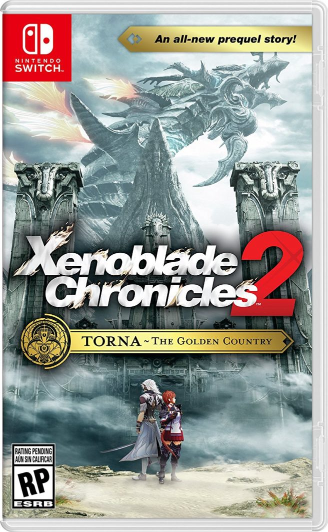 Xenoblade Chronicles 2 - Torna ~ The Golden Country - Box Art