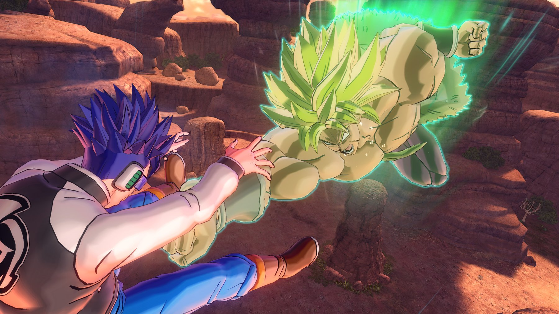 First Screenshots Of Super Saiyan Full Power Broly In Dragon