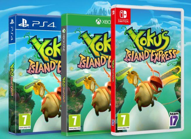 Yoku's Island Express boxart