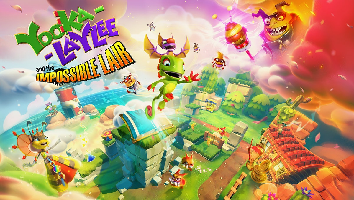 Yooka-Laylee and the Impossible Lair upcoming update detailed